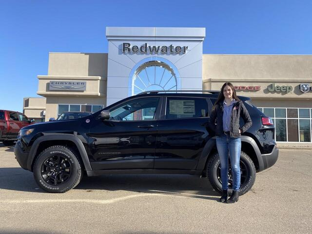 2021 Jeep Cherokee Trailhawk Redwater AB