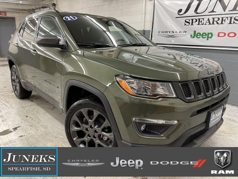 2021 Jeep Compass 80TH ANNIVERSARY 4X4 Spearfish SD