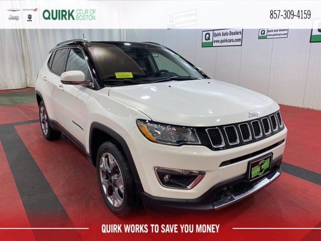 2021 Jeep Compass LIMITED 4X4 Boston MA