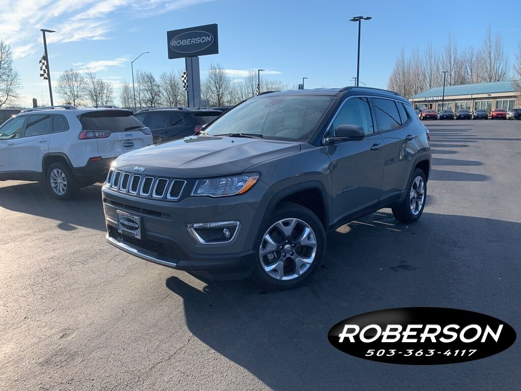 2021 Jeep Compass LIMITED 4X4 Salem OR