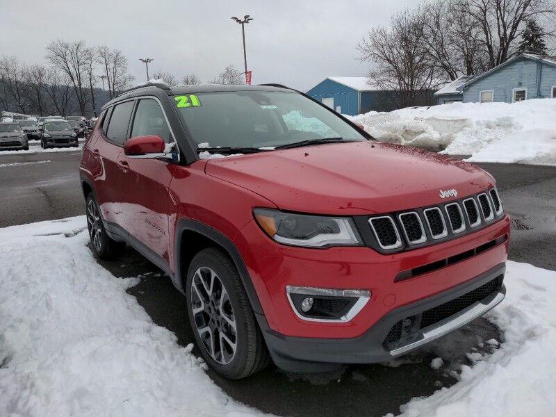 2021 Jeep Compass Limited Owego NY
