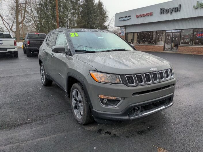 2021 Jeep Compass Limited Owego NY
