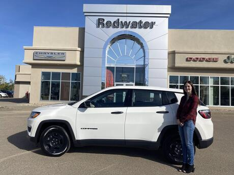 2021 Jeep Compass Sport Redwater AB