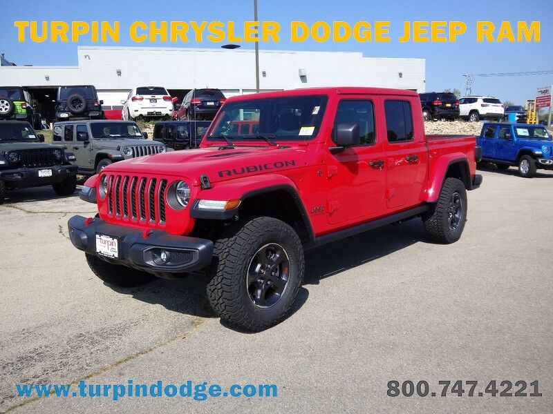 2021 Jeep Gladiator RUBICON 4X4 Dubuque IA