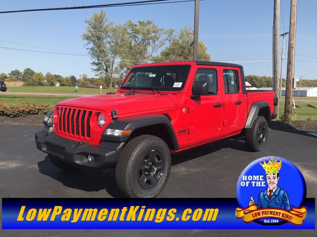2021 Jeep Gladiator SPORT 4X4 Shelby OH
