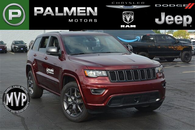 2021 Jeep Grand Cherokee 80TH ANNIVERSARY 4X4 Racine WI