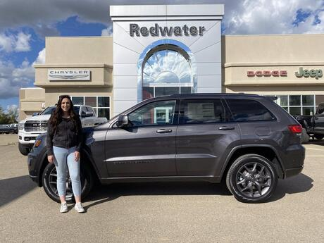 2021 Jeep Grand Cherokee 80th Anniversary Edition Redwater AB