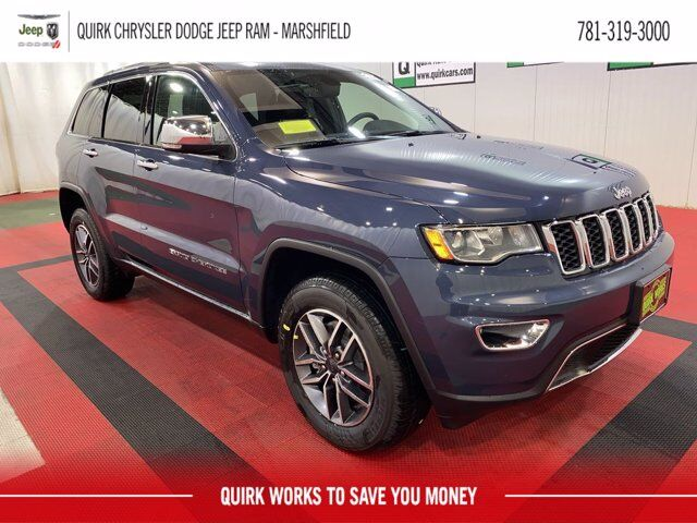 2021 Jeep Grand Cherokee LIMITED 4X4 Marshfield MA