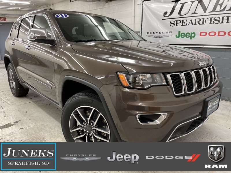 2021 Jeep Grand Cherokee LIMITED 4X4 Spearfish SD