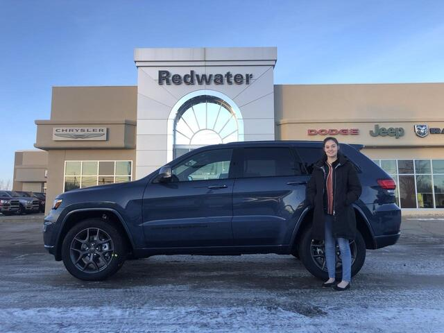 2021 Jeep Grand Cherokee Limited 80th Anniversary Edition Redwater AB