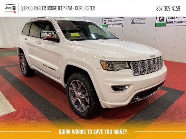 2021 Jeep Grand Cherokee OVERLAND 4X4 Boston MA