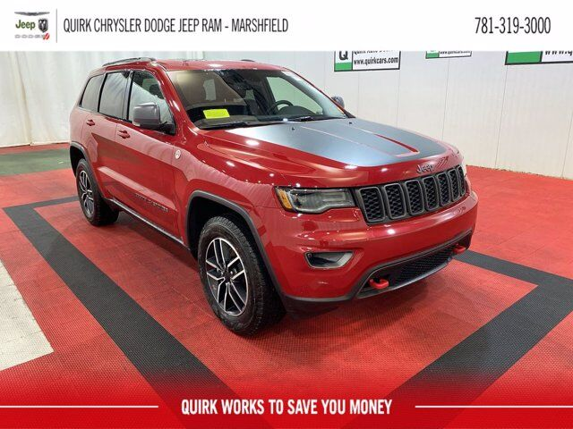 2021 Jeep Grand Cherokee TRAILHAWK 4X4 Marshfield MA