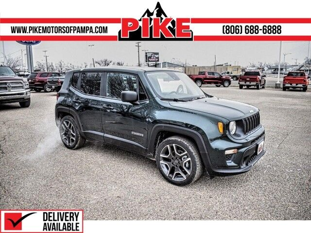 2021 Jeep Renegade Jeepster Pampa TX