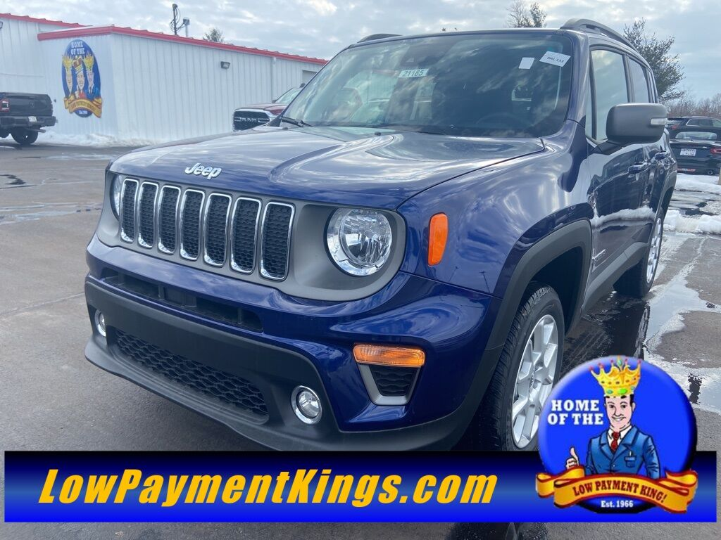 2021 Jeep Renegade LIMITED 4X4 Shelby OH