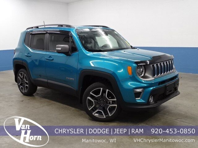 2021 Jeep Renegade LIMITED 4X4 Manitowoc WI