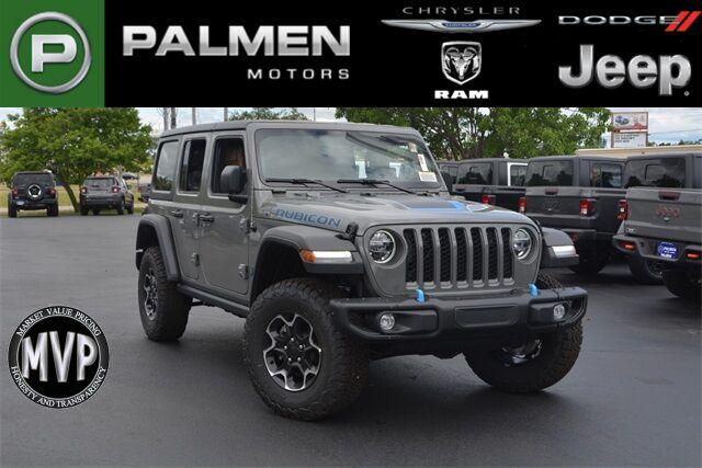 2021 Jeep Wrangler 4xe WRANGLER RUBICON 4xe Racine WI