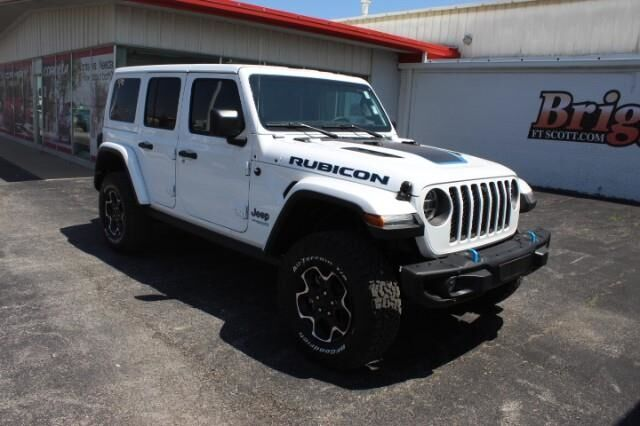 2021 Jeep Wrangler 4xe WRANGLER RUBICON 4xe Fort Scott KS