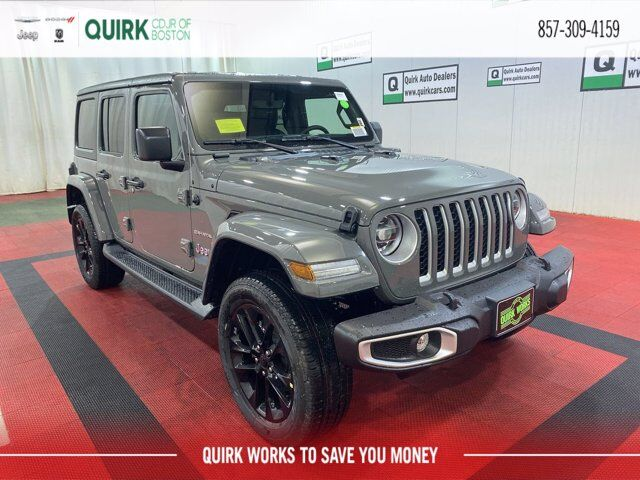 2021 Jeep Wrangler 4xe Unlimited Sahara 4x4 Boston MA
