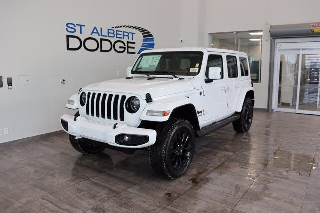 2021 Jeep Wrangler High Altitude St. Albert AB