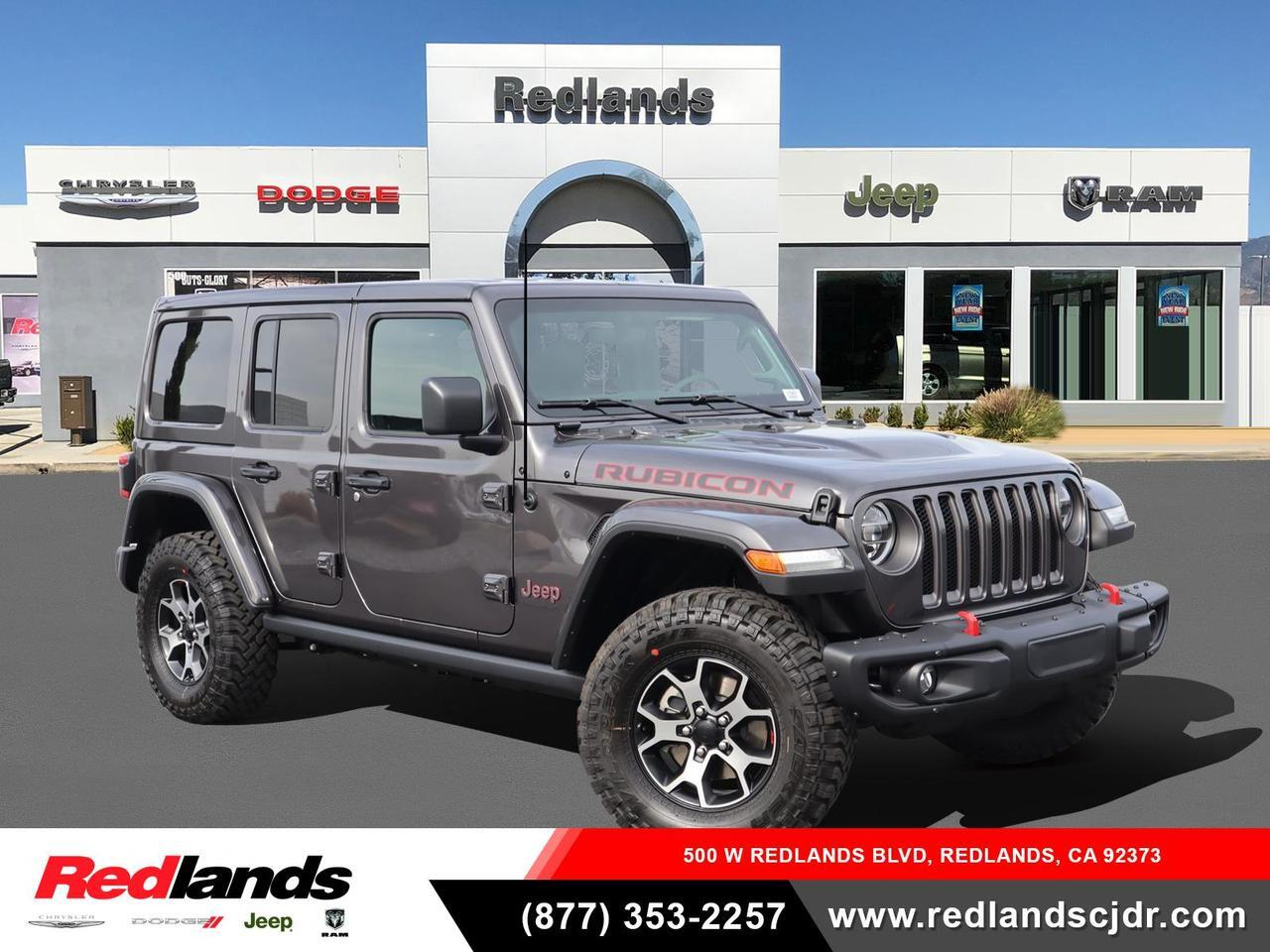 2021 Jeep Wrangler Rubicon Redlands CA