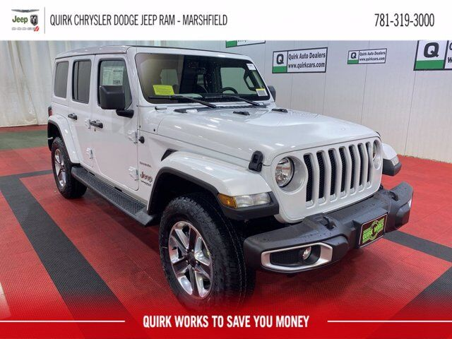 2021 Jeep Wrangler Sahara Unlimited 4x4 Marshfield MA