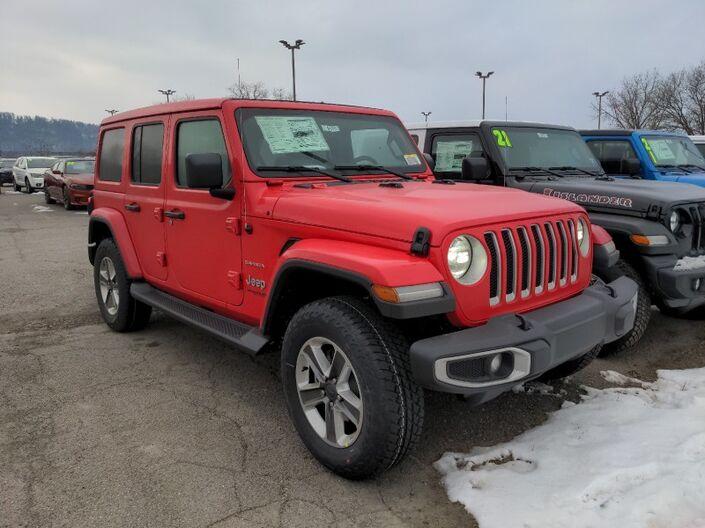 2021 Jeep Wrangler Sahara Owego NY