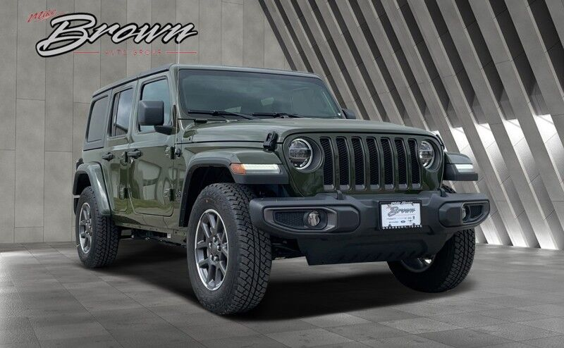 2021 Jeep Wrangler UNLIMITED 80TH ANNIVERSARY 4X4 Granbury TX