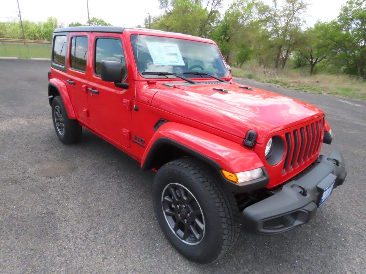 2021 Jeep Wrangler UNLIMITED 80TH ANNIVERSARY 4X4 Lampasas TX
