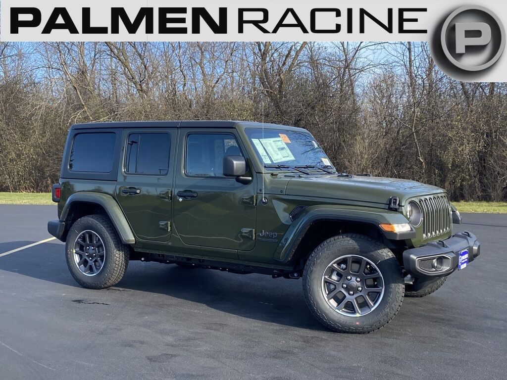 2021 Jeep Wrangler UNLIMITED 80TH ANNIVERSARY 4X4 Racine WI