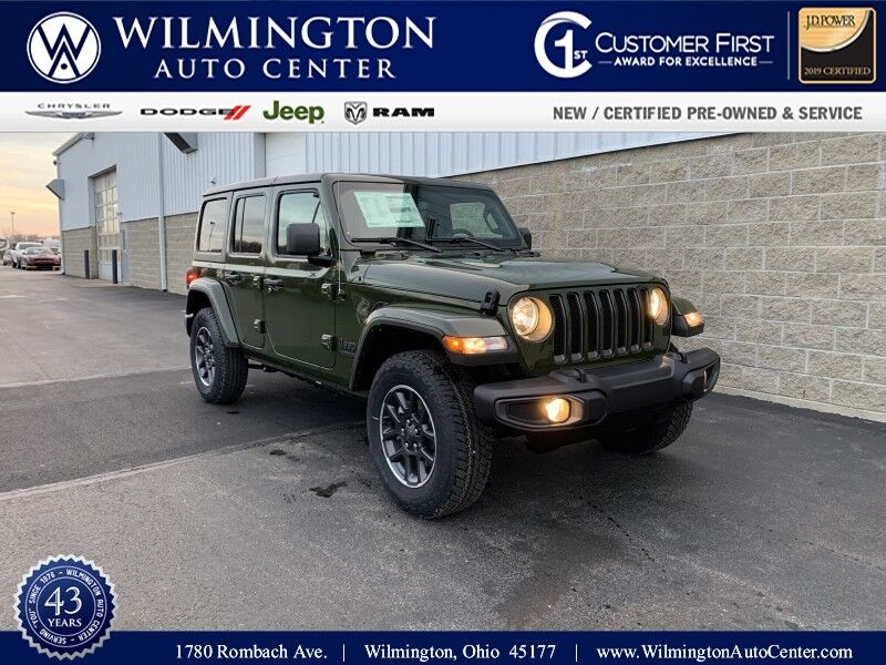 2021 Jeep Wrangler UNLIMITED 80TH ANNIVERSARY 4X4 Wilmington OH