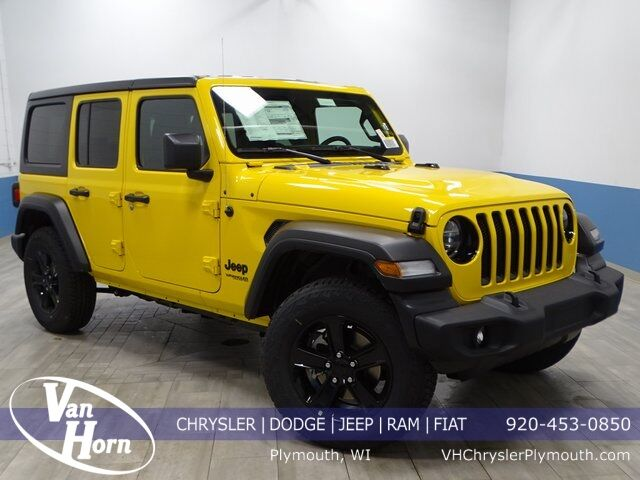 2021 Jeep Wrangler UNLIMITED ALTITUDE 4X4 Plymouth WI