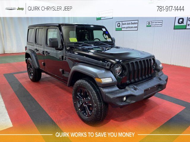 2021 Jeep Wrangler UNLIMITED ALTITUDE 4X4 Braintree MA