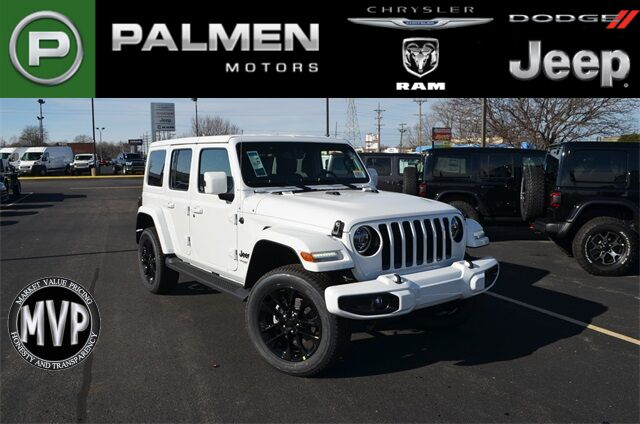 2021 Jeep Wrangler UNLIMITED HIGH ALTITUDE 4X4 Kenosha WI
