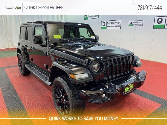 2021 Jeep Wrangler UNLIMITED HIGH ALTITUDE 4X4 Braintree MA