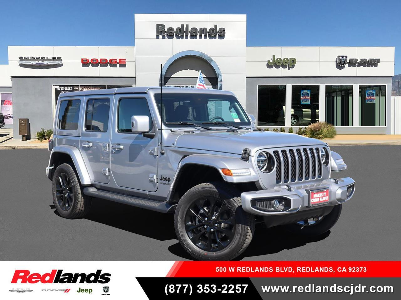 2021 Jeep Wrangler UNLIMITED HIGH ALTITUDE 4X4 Redlands CA