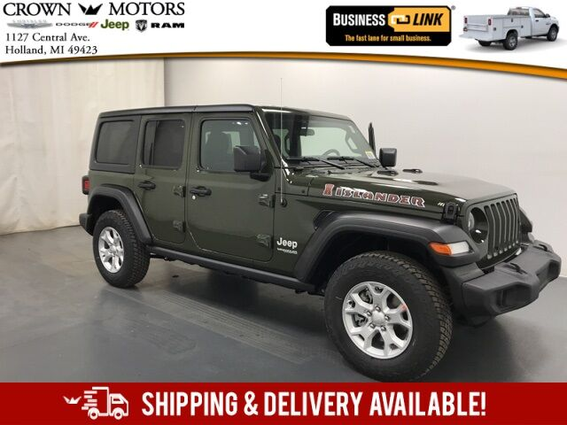 2021 Jeep Wrangler UNLIMITED ISLANDER 4X4 Holland MI