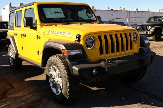 2021 Jeep Wrangler UNLIMITED ISLANDER 4X4