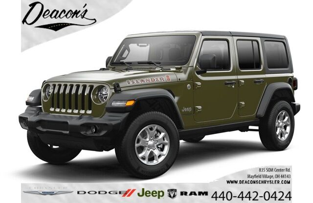 2021 Jeep Wrangler UNLIMITED ISLANDER 4X4 Mayfield Village OH