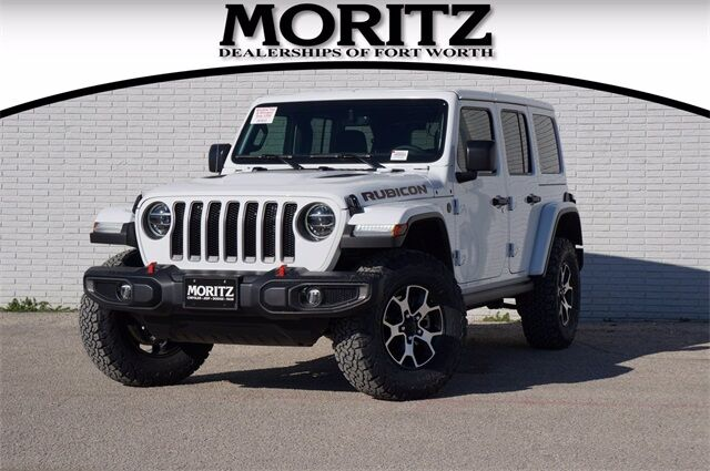 2021 Jeep Wrangler UNLIMITED RUBICON 4X4 Fort Worth TX