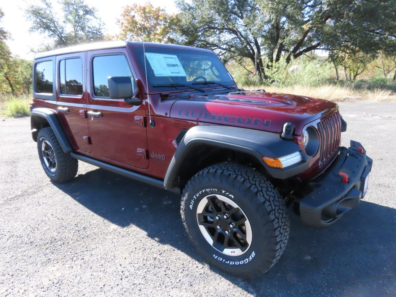 2021 Jeep Wrangler UNLIMITED RUBICON 4X4 Lampasas TX