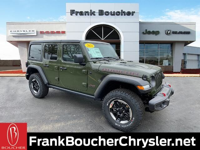 2021 Jeep Wrangler UNLIMITED RUBICON 4X4 Janesville WI