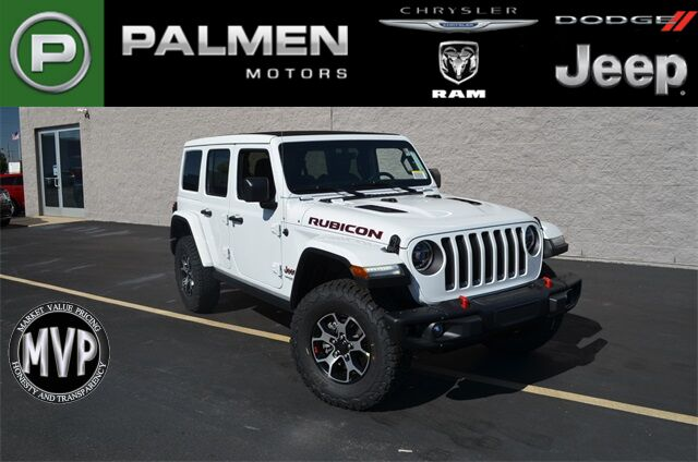 2021 Jeep Wrangler UNLIMITED RUBICON 4X4 Kenosha WI