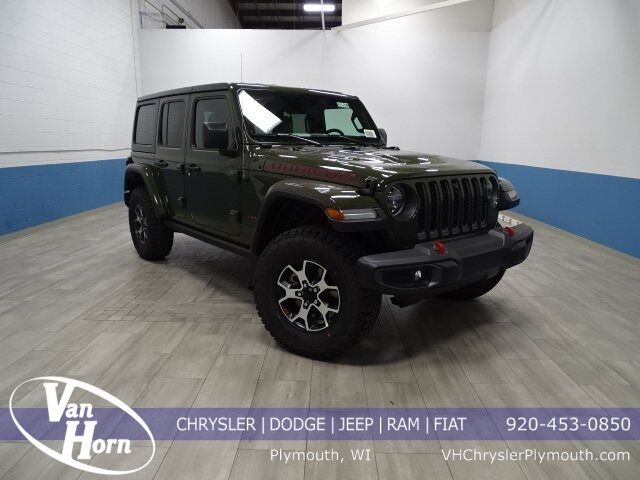 2021 Jeep Wrangler UNLIMITED RUBICON 4X4 Plymouth WI
