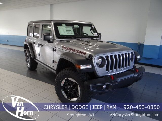 2021 Jeep Wrangler UNLIMITED RUBICON 4X4 Stoughton WI