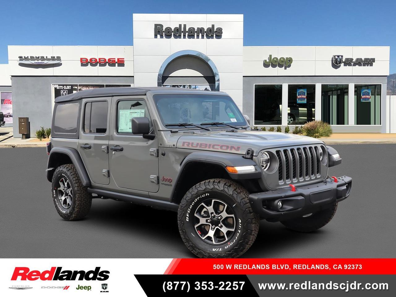 New 2021 Jeep Wrangler Unlimited Rubicon 4x4 Sting Gray Clear Coat Exterior Paint For Sale In Redlands Ca 1c4hjxfn0mw569042