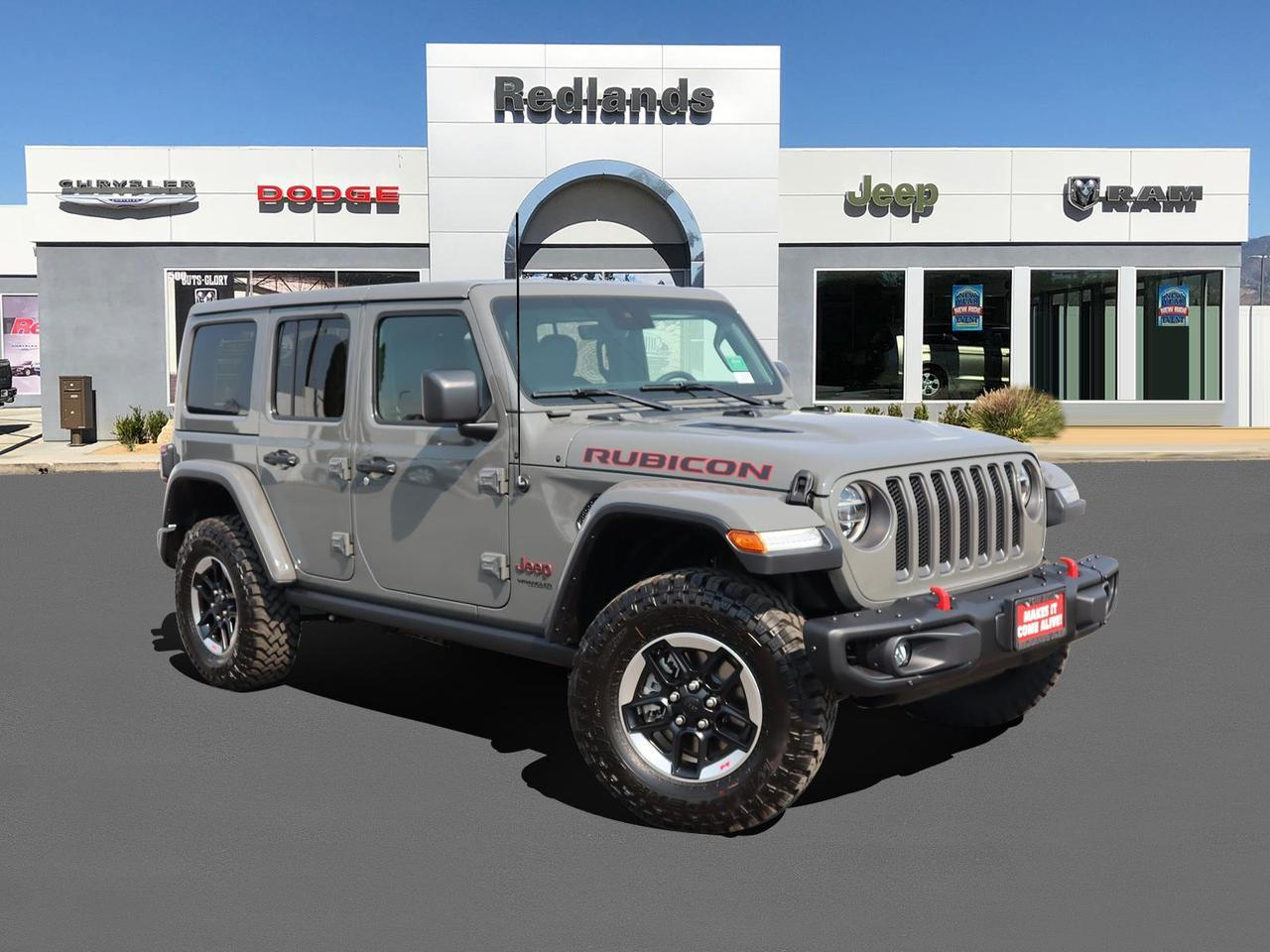 2021 Jeep Wrangler UNLIMITED RUBICON 4X4 Redlands CA
