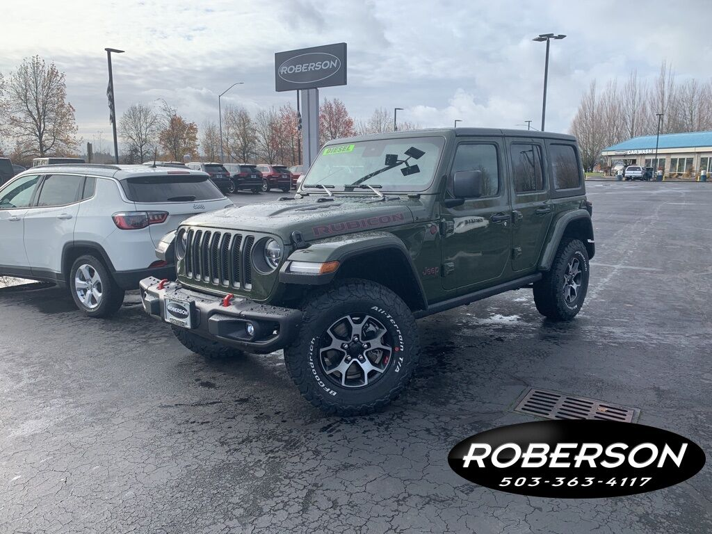 2021 Jeep Wrangler UNLIMITED RUBICON 4X4 Salem OR