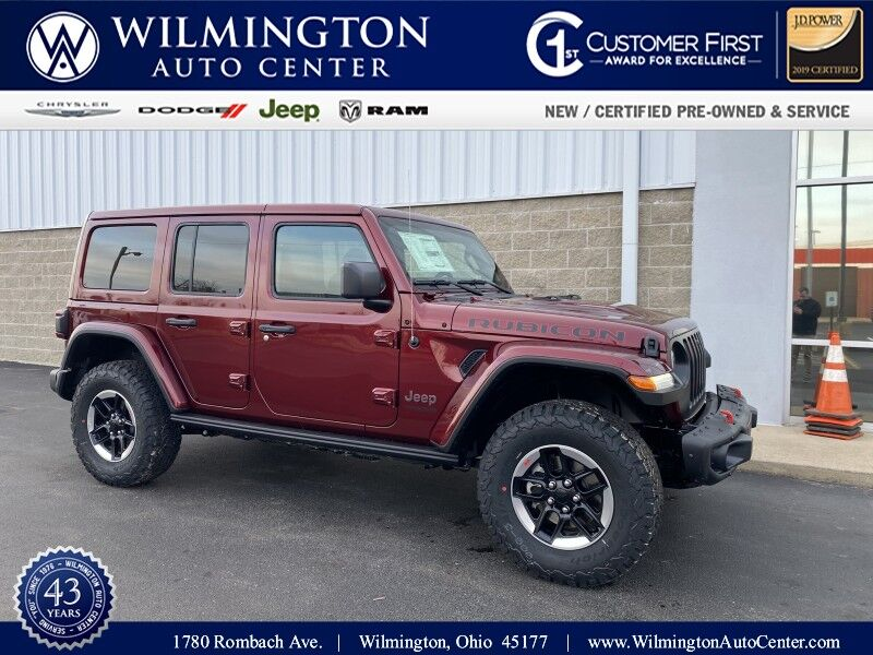 2021 Jeep Wrangler UNLIMITED RUBICON 4X4 Wilmington OH