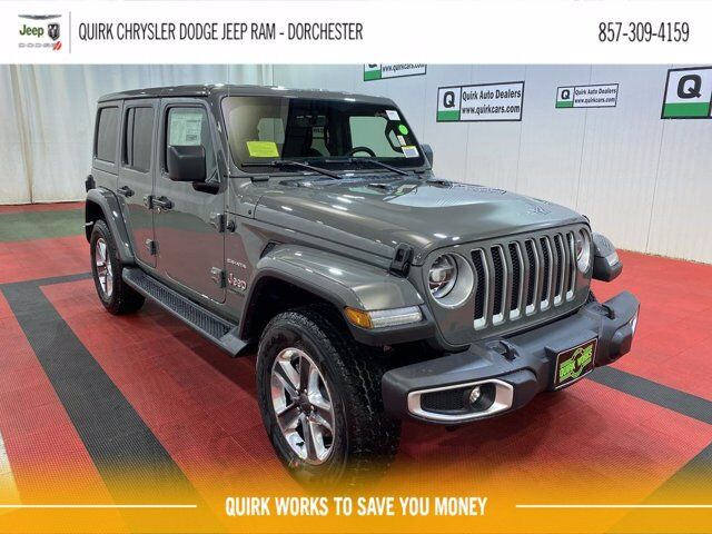 2021 Jeep Wrangler UNLIMITED SAHARA 4X4 Boston MA