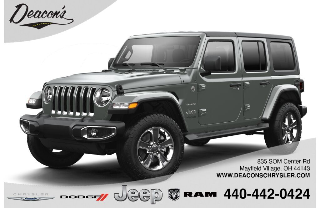 2021 Jeep Wrangler UNLIMITED SAHARA 4X4 Mayfield Village OH